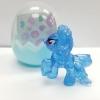 KC044 Pony Egg พวงกุญแจ โพนี่ สีฟ้าใส พร้อมสติกเกอร์