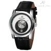 นาฬิกาข้อมือผู้ชายออโตเมติก KS Luxury Automatic สายหนังPU หน้าปัดสีทูโทน