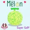 I133 Melon สกุชชี่ เมล่อน by chawa (Super Soft) ขนาด cm ลิขสิทธิ์แท้