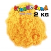 P073 ทรายนิ่ม Kinetic Sand ทรายสีส้ม แพ๊คสุดคุ้ม น้ำหนัก 2000 กรัม