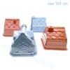 PA125 ทรายนิ่ม Soft Sand Play Sand แม่พิมพ์บ้าน 4 แบบ