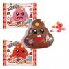 M082 ลูกอม อุนจิ Pop pop candy toy คละสี 1 ชิ้น พร้อมสติกเกอร์ตกแต่ง อุนจิ เล่นก็สนุก ขนมก็อร่อย