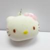 C769 สกุชชี่ Hello Kitty Buns โบว์ชมพู (SOFT) ขนาด 4.5 cm กลิ่นขนม