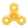 HF081 Hand spinner - GYRO (ไจโร) -Fingertip Gyroscope Basic เรืองแสง สี ส้ม