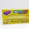 KN023 Monster Esspapier ขนมกระดาษ มี อย Monster Box รสกล้วย 1 กล่องมี 100 ชิ้น