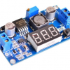 LM2596 Step-down Power Module DC 4.0~40 to 1.3-37V Adjustable + LED Voltmeter