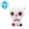 I192 สกุชชี่ Cutie the cat white (super soft) ขนาด 12cm ลิขสิทธิ์แท้