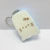 CA102 สกุชี่ สกุชี่ ปัง Hello Kitty สีฟ้า (Super Soft) 7 cm มีกลิ่นขนม