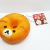 CA163 สกุชี่ โดนัทหมีน้อย ขนาด 10 cm (Super soft)