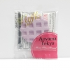 CA089 สกุชี่ Aoyama Tokyo waffle Purple(Soft) 5 cm