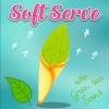 I183 สกุชชี่ ไอศกรีมซอฟต์เสิร์ฟกลิ่นชาเขียว Soft Serve ice cream with Green Tea scent ขนาด 20 cm (Super Soft) ลิขสิทธิ์แท้