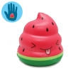 I215 สกุชชี่ Mini Crazy Poo squishy-watermelon By Puni-maru (Super Soft) ขนาด 6 cm