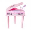 BB002 ของเล่น บทบาทสมมุติ มินิเปียโน37คีย์+เก้าอี้ (สีชมพู)