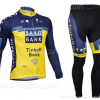 ชุดปั่นจักรยาน แขนยาว Saxo เสื้อปั่นจักรยาน และ กางเกงปั่นจักรยาน