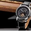 นาฬิกาข้อมือผู้ชายออโตเมติกKS Luxury Tourbillon Moonphase Automatic Watch KS068 สายข้อมือหนัง