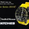 นาฬิกาสปอร์ตแฟชั่น Smith Wesson Sport Fashion Watch 397 Series(สีเหลือง) แสดงเวลา-วันที่ สายข้อมือยางคุณภาพดี