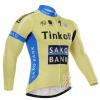 เสื้อปั่นจักรยาน แขนยาว Tinkoff Saxo พร้อมส่ง
