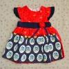 ไซส์ 2-3 ปี BabyQ ชุดกระโปรงเด็กผู้หญิง