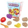 PW121 ทรายนิ่ม Soft Sand Play Sand Fruit ทรายคละ 3 สี น้ำหนักรวม 800 กรัม พร้อมอุปกรณ์