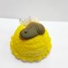 C724 สกุชชี่ ไอศรีม สนูปปี๊ สีเหลือง (SOFT) ขนาด 6 cm กลิ่นขนม