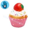 I282 สกุชชี่ Squishy Tasfry Tefifi cup cake ขนาด 5 cm (Super Soft) ลิขสิทธิ์แท้
