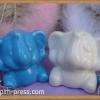 กระปุกพริกไทยเซรามิกช้างคู่หูกาง