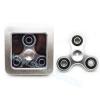 HF135 Hand spinner - GYRO (ไจโร) -Fidget spinner Basic โลหะ สีเงิน