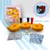 D043 ชุดตกแต่ง สกุชชี่ Hello Kitty Diy Donut ตกแต่ง โดนัทคิตตี้สไลส์ตัวเอง ชุดใหญ่