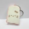 CA103 สกุชี่ ปัง Hello Kitty สีชมพู (Super Soft) 7 cm มีกลิ่นขนม