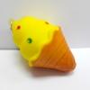 C903 สกุชี่ ไอศครีม เหลือง (SUPER SOFT) สูง 9 cm กลิ่นขนม