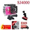 กล้องติดรถยนต์ SJCAM SJ4000 WIFICAM กล้องaction cam เอนกประสงค์ ของแท้ 100% (สีชมพู)