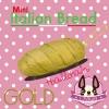 I159 Italian Bread Gold Mini by chawa สกุชชี่ อิตาเลียน เบลด มินิ สีทอง (super soft) ขนาด 10 CM