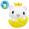 I288 สกุชชี่ Squishy แมวน้อยBY Heart For Kids ขนาด 12 cm (Super Soft) ลิขสิทธิ์แท้