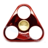 HF096 Hand spinner - GYRO (ไจโร) -Fingertip Gyroscope โลหะ รุ่น Triangle สีแดง