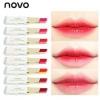 Novo double color lipstick ลิปสติกทูโทน โทนสีสวยแซ่บ เนื้อเป็นลิปบาล์มสั่งเยอะ99 บาท