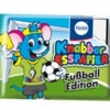 KN015 Knabber Esspapier Fußball Edition ขนมกระดาษ มี อย ลาย ฟุตบอล คละแบบ 1 ห่อ รสผลไม้รวม (ลาย B)