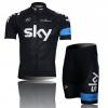 ชุดปั่นจักรยาน SKY สีดำ ขนาด M พร้อมส่งทันที รวม EMS