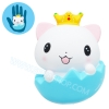 I289 สกุชชี่ Squishy แมวน้อยBY Heart For Kids ขนาด 12 cm (Super Soft) ลิขสิทธิ์แท้