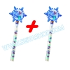 KP125 Disney © Jelly Belly Frozen Candy Wands เจลลี่ FORZEN สีมุก