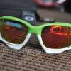 แว่นตาปั่นจักรยาน Oakley Jawbone เขียว-ขาว