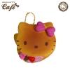 C916 สกุชี่ Hello Kitty Pancake Pink (SOFT) ลิขสิทธิ์ แท้ญี่ปุ่น ขนาด7 cm