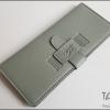Smokey Grey(เทา) - Sashy Yen Wallet