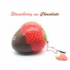 I050 PUNIMARU strawberry Cute chocolate squishy JUMBO สกุชชี่ สตอเบอร์รี่ พูนิ จัมโบ้ ขนาด 11 cm