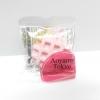 CA086 สกุชี่ Aoyama Tokyo waffle Pink (Soft) 5 cm
