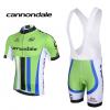 ชุดปั่นจักรยานแขนสั้นทีม Cannoldale เสื้อปั่นจักรยาน กับ กางเกงปั่นจักรยาน(แบบมีเอี่ยม)