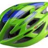 หมวกกันน๊อคจักรยาน สีเขียวน้ำเงิน