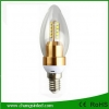 หลอดไฟ LED E14 Crystal Blunt Tip Bulb Light Lamp 4W.