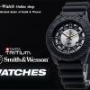 นาฬิกาSmith-Wesson SWISS Tritium H-3 Watch Military&Police-GRY สายข้อมือยางคุณภาพดี พร้อมกล่องอลูมิเนียมชนิดพิเศษ