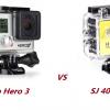 Go Pro Hero VS SJ4000 WIFI