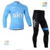 ชุดปั่นจักรยาน แขนยาว SKY เสื้อปั่นจักรยาน และ กางเกงปั่นจักรยาน
